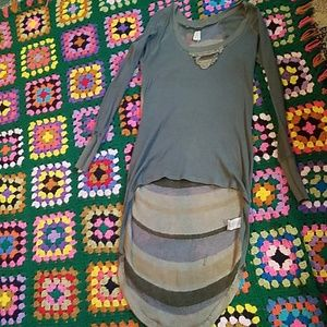 Free people unique henly tunic size xs